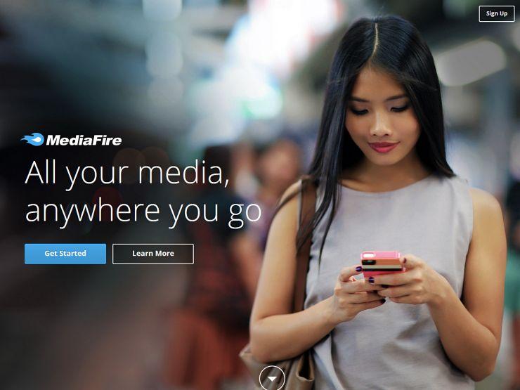 mediafire.com Screenshot