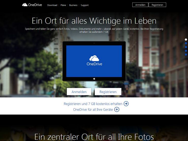 skydrive.live.com Screenshot