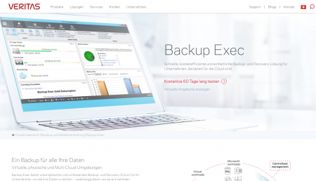 Veritas Windows Server Backup Exec