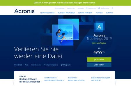 Acronis Backup für Firmen