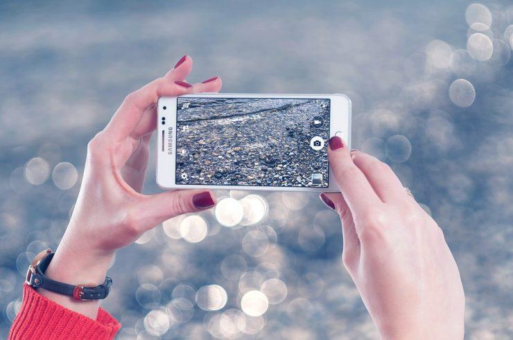 Digitalbilder mit Smartphone