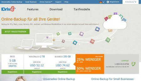 iDrive Windows Cloud Backup