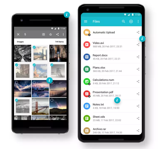 pcloud Android