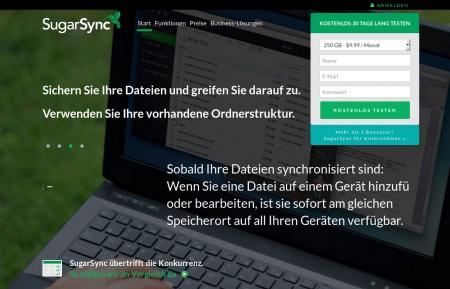 Sugarsync Backup für Firmen
